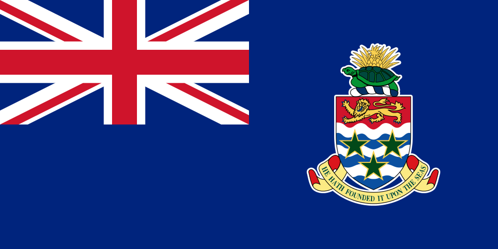 Cayman Islands Flag of the Cayman Islands ZF2NF