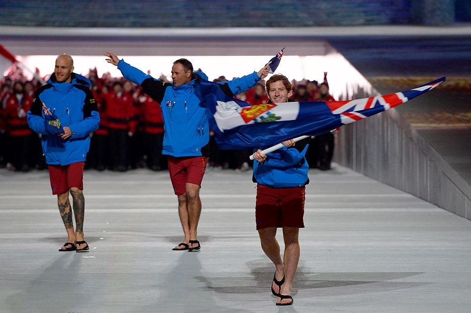 Cayman Islands National Team Olympic Games Sochi 2014