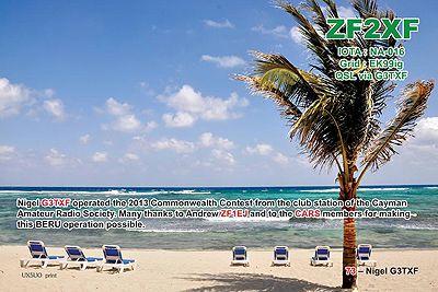 Cayman Islands ZF2XF DX News