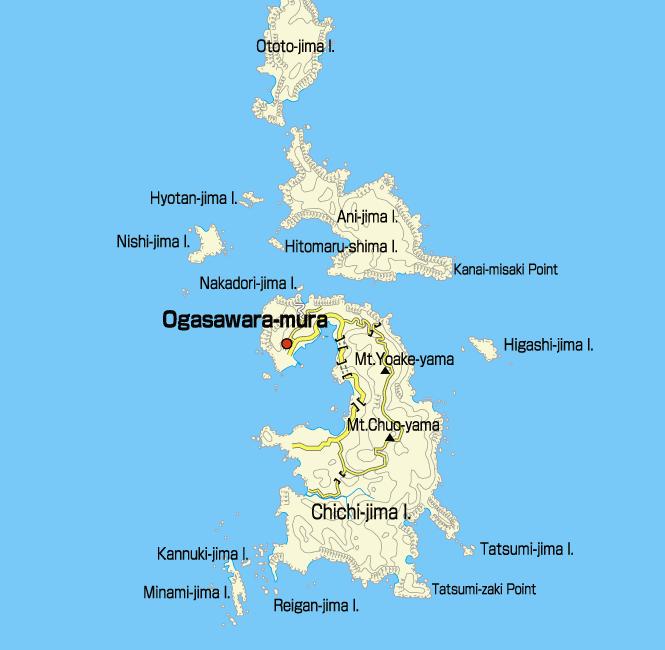 Чичи Джима Остров Острова Огасавара