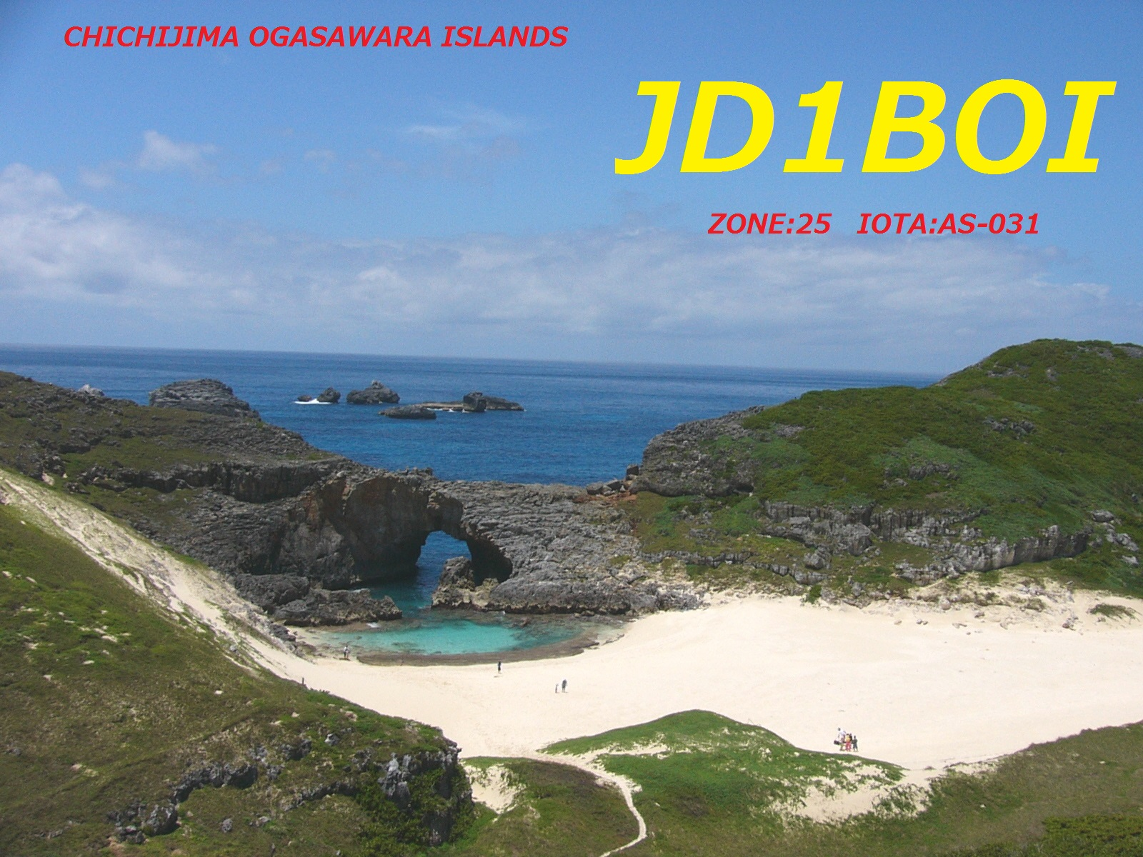 Chichijima Island Ogasawara Islands JD1BOI