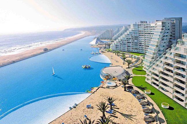 Чили CE3/SQ1DWR Самый большой плавательный бассейн