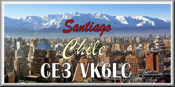Chile CE3/VK6LC Santiago