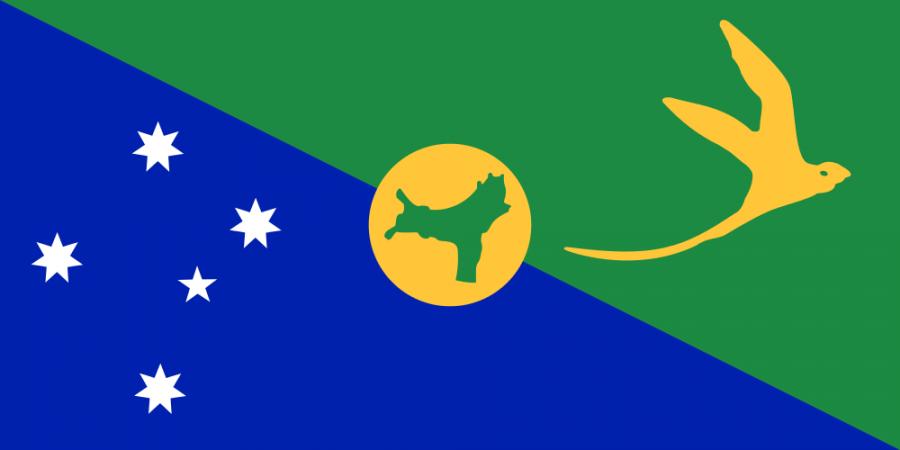 Christmas Island Flag of Christmas Island VK9EX