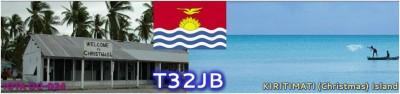 Christmas Island Kiritimati Island T32JB Kiribati