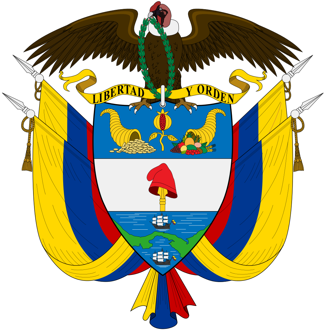 Colombia Coat of Arms Colombia HK9/VK6LC HK3/VK6LC