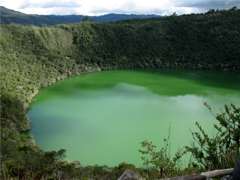 Colombia HK1NA Guatavita Lake