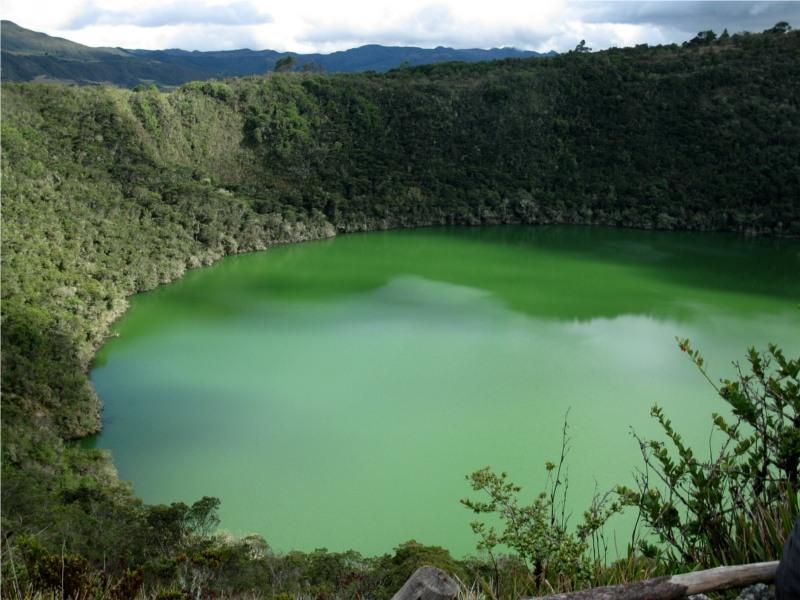 Colombia HK1NA Guatavita Lake