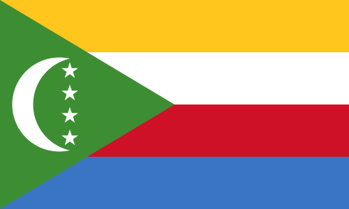 Comoro Islands D68K Flag