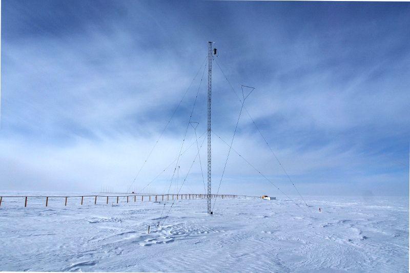 Concordia Research Station Antarctica IA/IZ3SUS Antennas