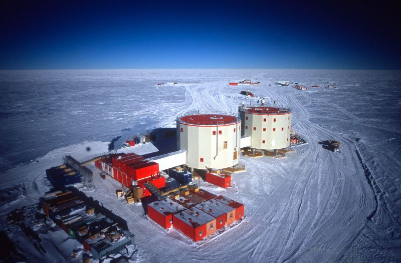 Concordia Research Station Antarctica IA/IZ3SUS DX News