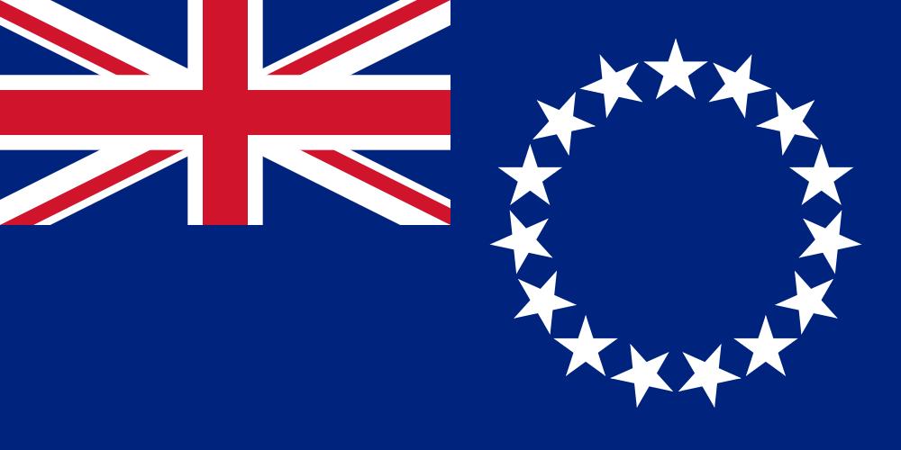Cook Islands Flag of Cook Islands E51AVE  E51KJW  E51JQY  E51MCA