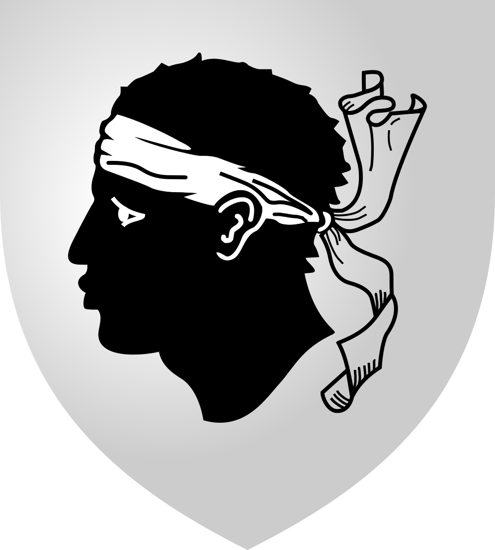 Corsica Coat of Arms of Corsica