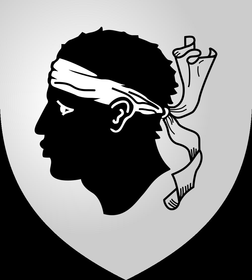 Корсика Герб острова Корсика