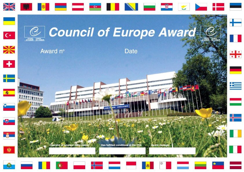 Council of Europe Amateur Radio Club TP2CE