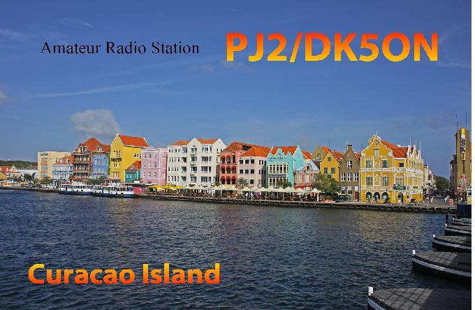 Остров Кюрасао PJ2/DK5ON