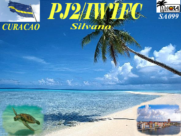 Остров Кюрасао PJ2/IW1FC