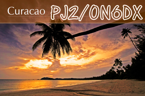 Curacao Island PJ2/ON6DX QSL