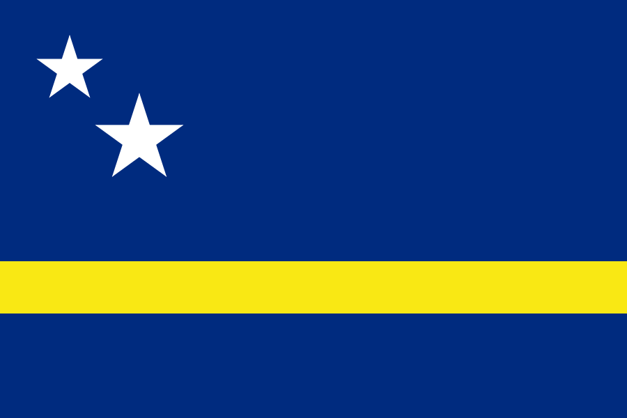 Curacao Flag of Curacao