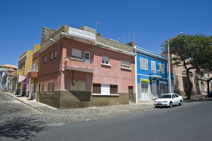 D44CF Улица Миндело Кабо Верде Острова Зеленого Мыса