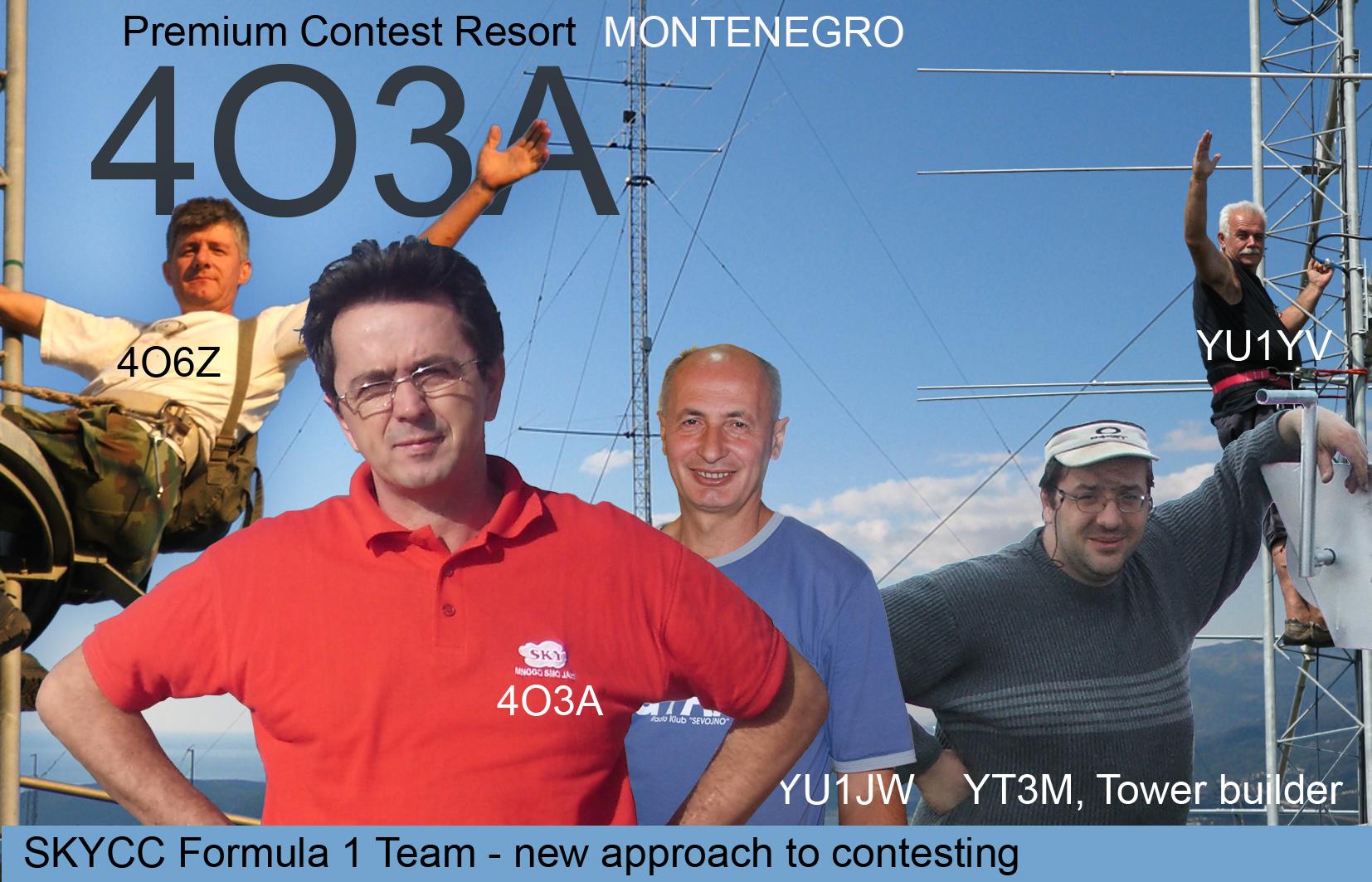 Черногория Sky Contest Club 4O3A