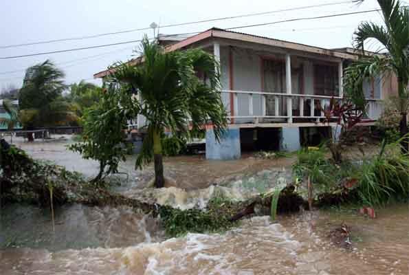Damages Hurricane
