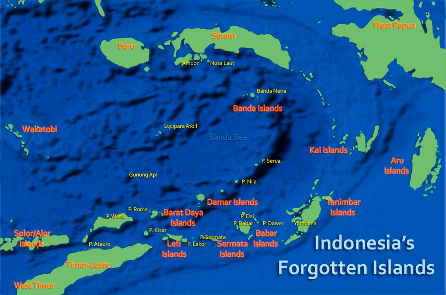 Damar Besar Island Edam Island DX News YB0D