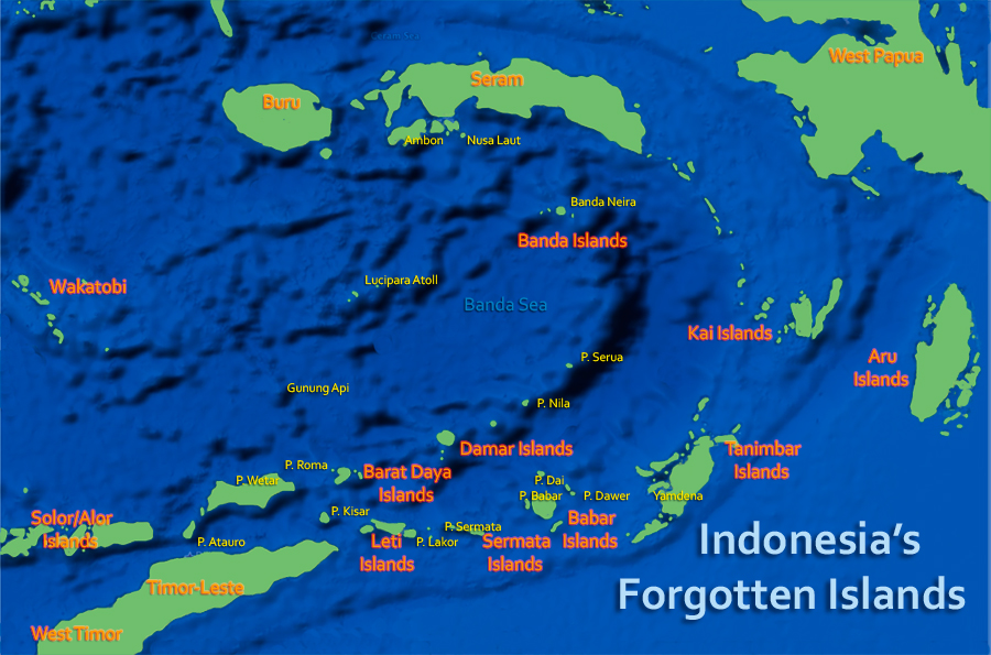 Damar Island YE0EDAM DX News MAP