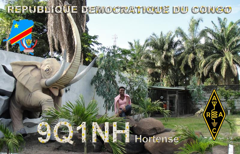 Демократическая Республика Конго 9Q1NH QSL