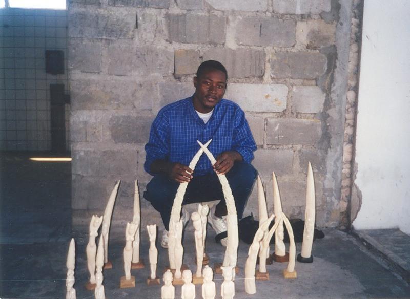 Демократическая Республика Конго 9Q6AL Фигуры из Слоновой Кости