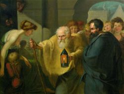 Diogenes looking for man CQ WW CC