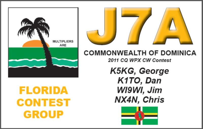 Dominica Island J75KG J79WI J79XX J79MP J7A