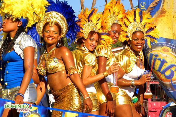 Dominica Island J75Z Carnival Tourist Attractions