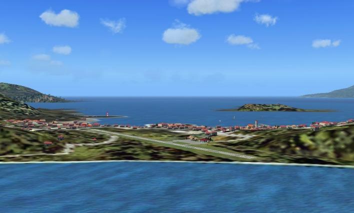 Остров Доминика J79ZZ Аэропорт