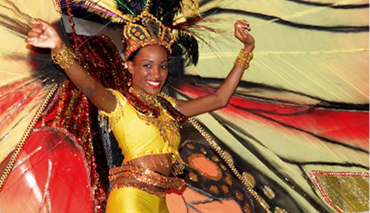 Остров Доминика J7Y Карнавал