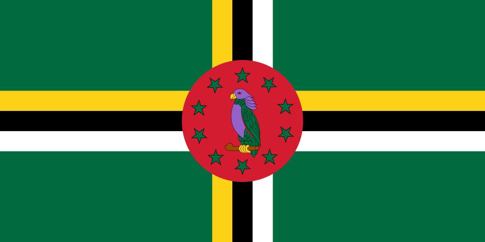 Dominica Flag of Dominica J79WTA