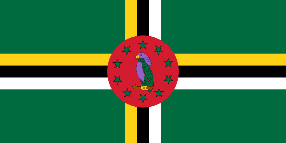 Dominica Flag of Dominica J79WTA