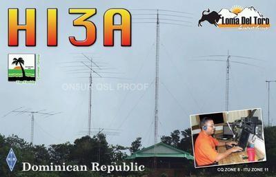 Dominican Republic HI3A DX News