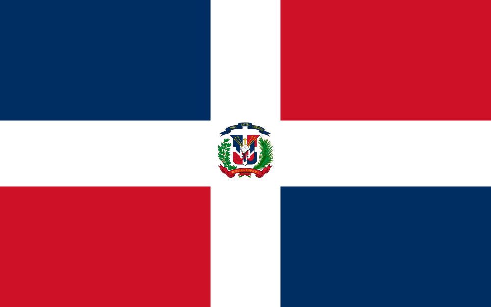 Dominican Flag of Dominican Republic