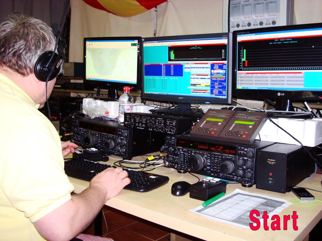 EF8M CQ WW DX CW Contest 2010 Start