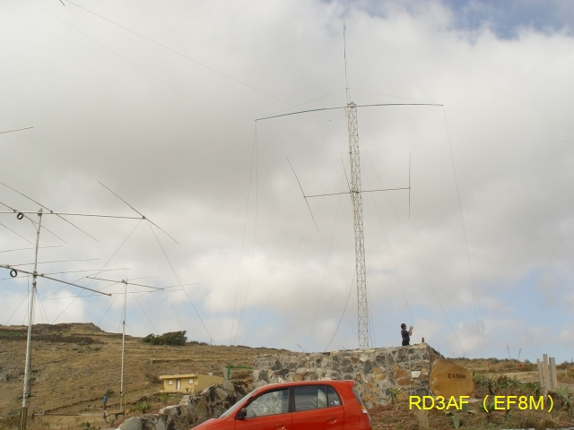 EF8M Contest Station