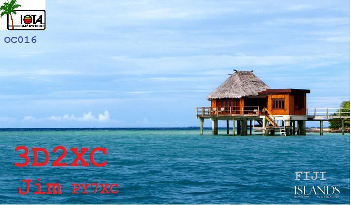 Острова Фиджи 3D2XC