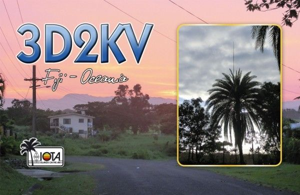 Fiji 3D2KV QSL