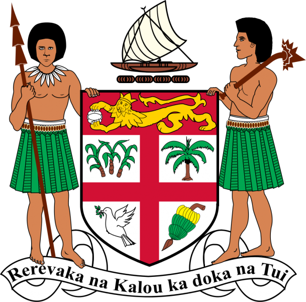 Fiji Coat of Arms 3D2ML
