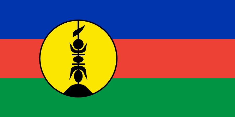 Flag of New Caledonia TX4A