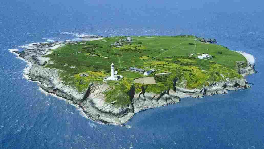 Остров Флэт Холм GC4BRS
