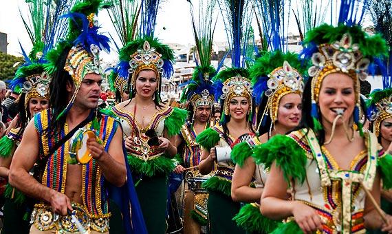 Fuerteventura Island Canary Islands Carnival EA8/DJ9RB