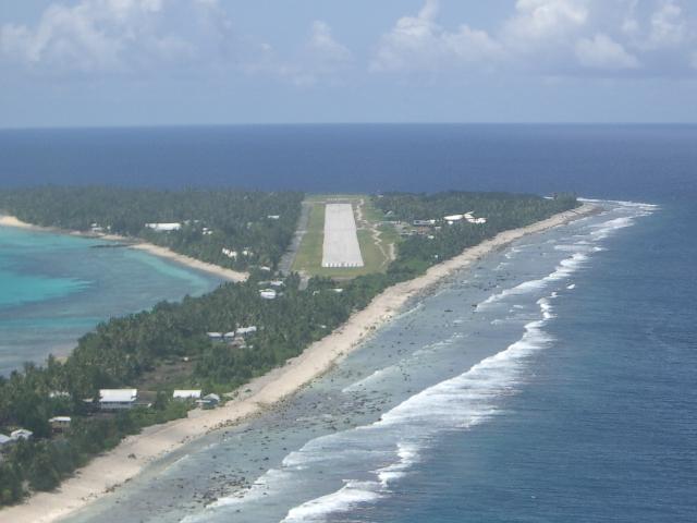 Атолл Фунафути Тувалу T2T Аэропорт