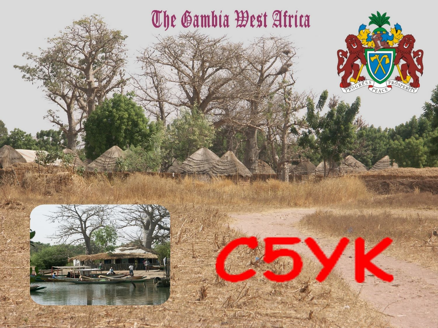 Gambia C5YK QSL