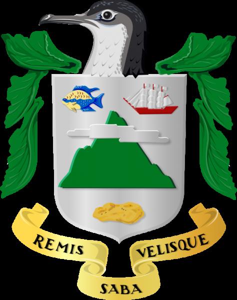 Герб острова Саба